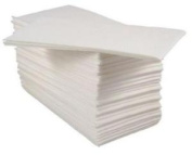 Airlaid Luxury Disposable Hand Towel 8-fold White - Pack Of 50