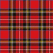 20 Ambiente 3 Ply Paper Napkins Serviettes Scottish Red Tartan Plaid Lunch Party