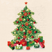 Ambiente 3 Ply Paper Lunch Napkins Serviettes Christmas Xmas Tree Dining Party