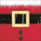 Ambiente Paper Napkins Serviette Santa's Belt Contemporary Father Christmas Xmas