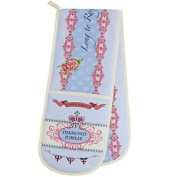 Queens Diamond Jubilee Contemporary Double Oven Glove
