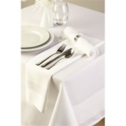 Stalwart Ce520 Tablecloth, Satin Band, 180cm