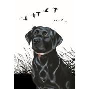Tea Towel - Black Labrador