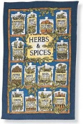 Ulster Weavers Linen Tea Towel Herbs And Spices