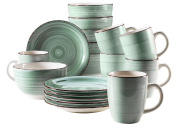 Domestic by Mäser Bel Tempo Breakfast Set 18 Pieces for 6 People (Colour