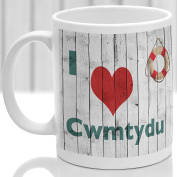 Cwmtyde mug, Gift to remember Wales, Ideal present,custom design.