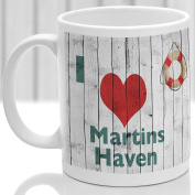 Martins Haven mug, Gift to remember Wales, Ideal present,custom design.