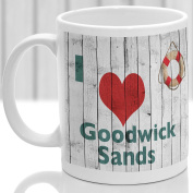 Goodwick Sands mug, Gift to remember Wales, Ideal present,custom design.