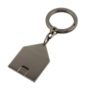 Arfasatti Sterling Silver 925 Key Ring Home Handmade in Italy
