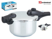 Stainless Steel Pressure Cooker - 4l, 6l 4 Litre