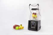 Enpee Quiet 1800w Commercial Blender With Sound Reducing Cover Box With Pre