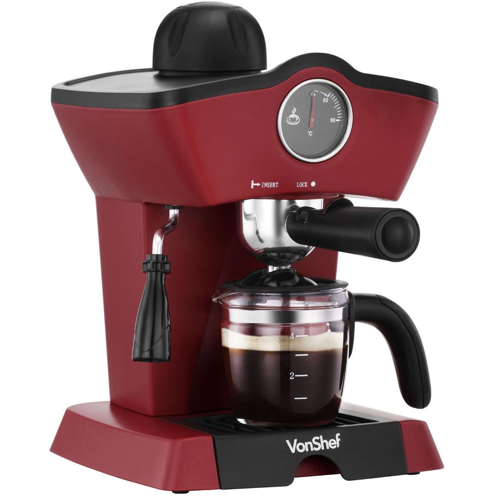 Vonshef Coffee Machines Kitchen Buy Online From Fishpondconz