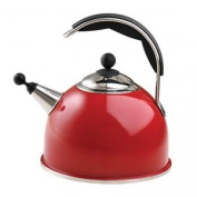 Aga Claret Red Whistling Kettle