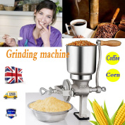 1pc Corn Coffee Food Wheat Grinder Manual Hand Grains Oats Mill Quality Warranty