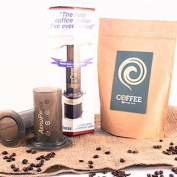 Aerobie Aeropress Coffee Maker With Bag Of Freshly Roasted Speciality Coffee