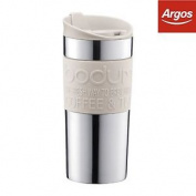 Bodum Travel Mug Vacuum - White.