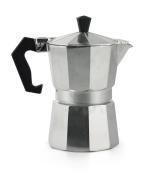 Galileo Casa 2175868 Coffee Maker, 1 Cup, Aluminium, Grey.