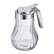 Westmark 65302260 Berlin Glass Honey/cream Dispenser Silver 12.3 X 11.8 X 8 Cm