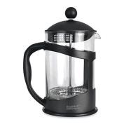 Berghoff 1 Litre Borosilicate Glass Studio Coffee/tea Plunger, Black