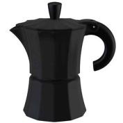 """Gnali & Zani Coffee Maker """"morosina"""" For 6 Cups, Black"""
