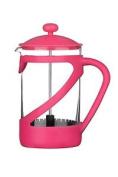 Premier Housewares 6 Cup Kenya Cafetiere - Hot Pink