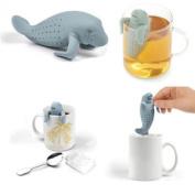 Manatea Infuser Strainers Grey Loose Green Tea Health Drink Herbal Tea Cup