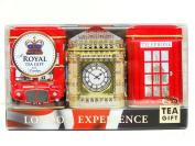 "English Tea Mini Caddy Set ""london Experience"", 3 X 20g/25g Tea Caddies 1"