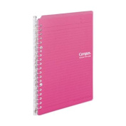 KOKUYO campus binder _smart ring_ PP cover A5 length 20 hole pink [ -SP130P]