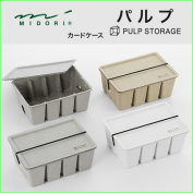 "midori (green) pulp storage ""card box pulp"" 16097006 grey /16098006 white /16099006 beige"