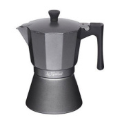 Le Xpress 6 Cup Induction Espresso Coffee Maker Grey