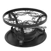 Menastyl Cooking 8011377.0 Avoriaz Steel Fondue Burner Black 23 X 23 X 10.7 Cm