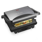 Tower T27009 Ceramic Health Grill And Griddle With Cerastone Non-stick Coating,
