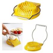 Standard Quality Multifunction Kitchen Egg Slicer Stainless Steel Sectioner Bbq