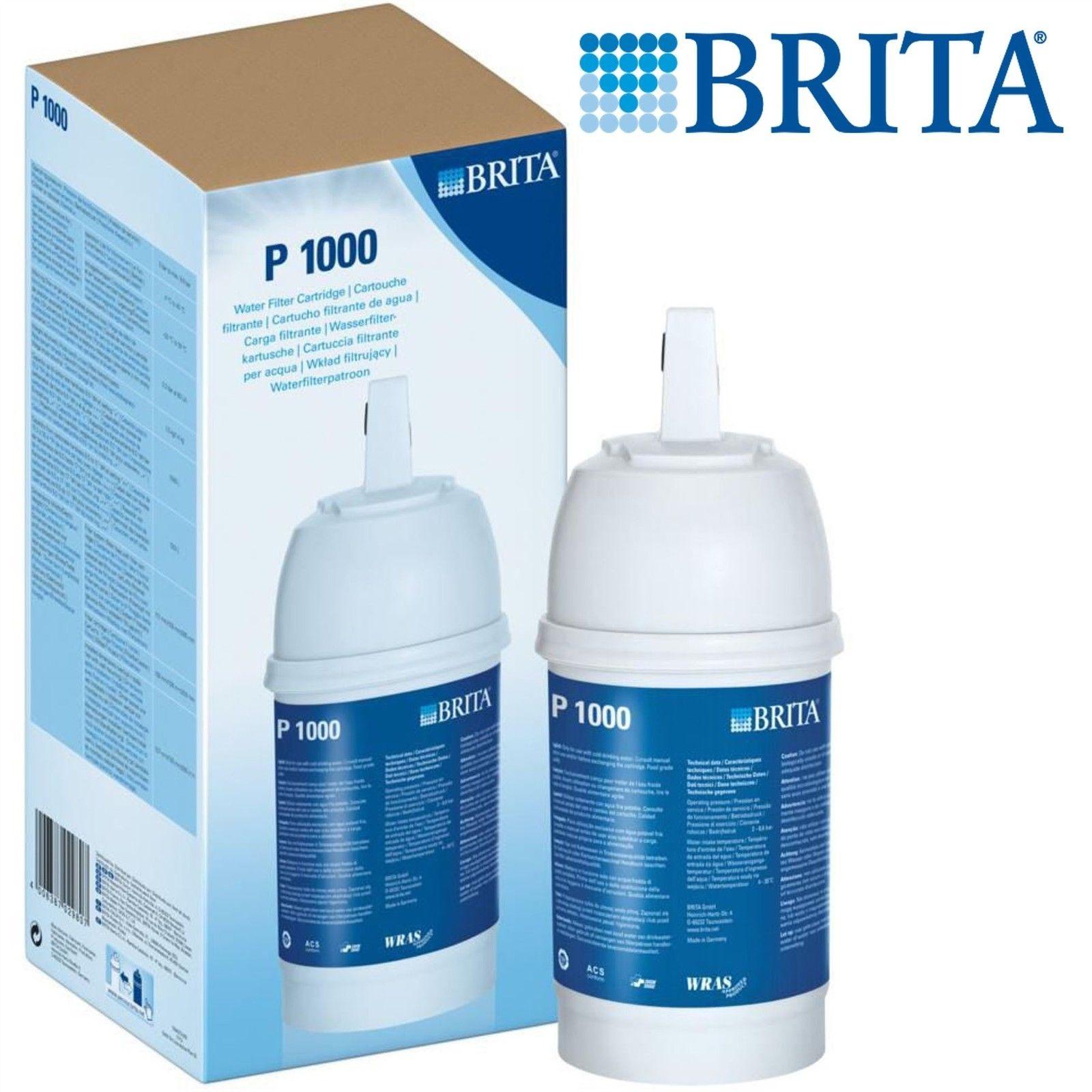 Brita P1000 Tap Water Filter Refill Genuine Replacement Kitchen Tap ...
