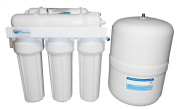 5 Stage Reverse Osmosis Water Filter For Drinking Water, Complete System, 50gpd