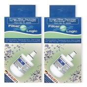 2 X Filterlogic Fl-293g To Replace for Samsung Da29-00003g & Da29-00003f,da