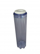 25cm Refillable Water Filter Cartridge Fits All 25cm Housings Clear See Through