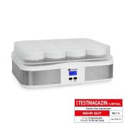 Klarstein 12 Jar Yoghurt Maker Digital Display Stainless Steel *free P & p Special