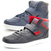 New Crosshatch Mens Designer High Ankle Light Weight Sneakers Trainer Shoes