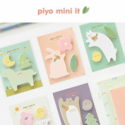 Stationery animal animal character balloon hmp-032 where tag pretty tag Post-it is interesting