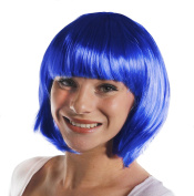 ADULTS THICK QUALITY BOB WIG - 20S STYLE PARTY COSPLAY SHORT WIG AVAILABLE IN 12 DIFFERENT COLOURS - BLUE BOB WIG