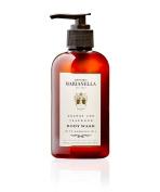 Orange and Teakwood Body Wash, 240ml, Luxury Artisanal Wonderfully Scented Small Batch Made in the USA