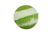 Peppermint Bath Bomb (130ml) - Handmade in USA - Ultra Lush & Organic Essential Oil - Fizzy & Colourful - Aromatherapy & Moisturising - Vegan & Gluten Free