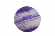Grapefruit & Bergamot Bath Bomb (130ml) - Handmade in USA - Ultra Lush & Organic Essential Oil - Fizzy & Colourful - Aromatherapy & Moisturising - Vegan & Gluten Free