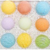 6 Rainbow Bath Fizzy & 3 Bath Truffles Gift set