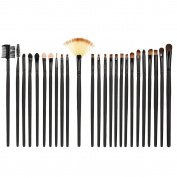Anself 35Pcs Professional Makeup Brushes Cosmetic Make Up Set Powder Eyeshadow Brushes Eyebrow Brush