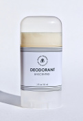 Unscented Aluminium Free Coconut Oil Vegan Deodorant 60ml - All Natural Mild Formula For Sensitive Skin - Preservative Free