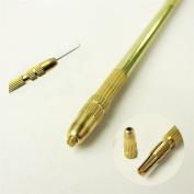 4 pcs Ventilating Needles +1 Brass Holder