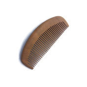 Plai Na Natural Wood Comb for Hair and Beard with Fine Tooth Dark Colour, size 13cm x 5.1cm