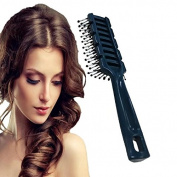 Vent Brush - 1 Pcs Detangling Brush Massage Hair Comb with 10-Row Large Tunnel Vent, Anti Static Hard Bristles Blow Dryer Hair Brush, Vented Wet Hair Brush for Men & Women